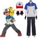 CosplayDiy Unisex's Pokemon GO Ash Ketchum Satoshi Cosplay Costume Halloween Cosplay