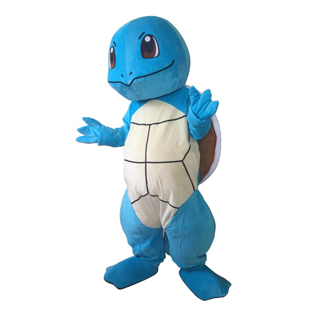 CosplayDiy Unisex Mascot Costume Pokemon GO Squirtle Turtle Pocket Monster  Cosplay