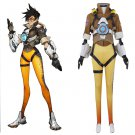 CosplayDiy Women's Outfit Overwatch Tracer Lena Oxton Cosplay Costume For Halloween