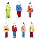 CosplayDiy Men's Snow White and the Seven Dwarfs Costume Cosplay For Party
