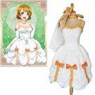 CosplayDiy Women's Dress Anime Love live! Koizumi Hanayo  Bridesmaid Dress Cosplay For Party