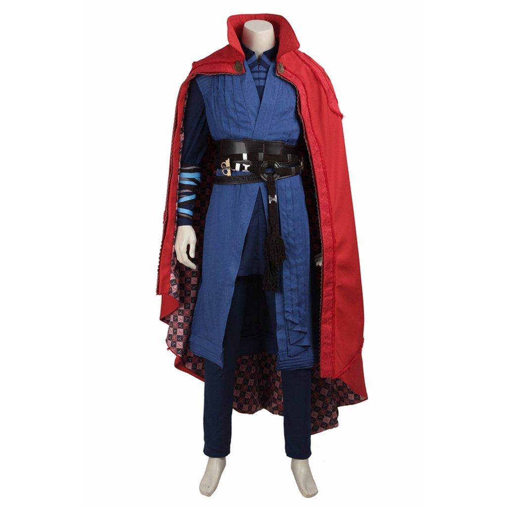 Cosplaydiy Men's Outfit Doctor Strange Stephen Vincent Strange Costume Cosplay For Party