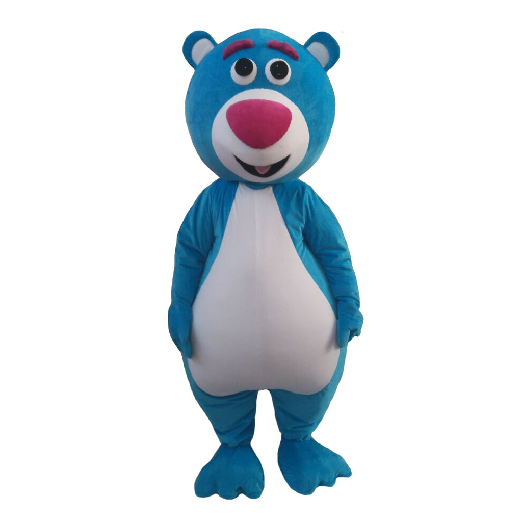 CosplayDiy Unisex's Mascto Costume Baloo Bear Cosplay For Party