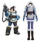 CosplayDiy Women's Costume OverWatch  Mei Costume OW cosplay  For Party