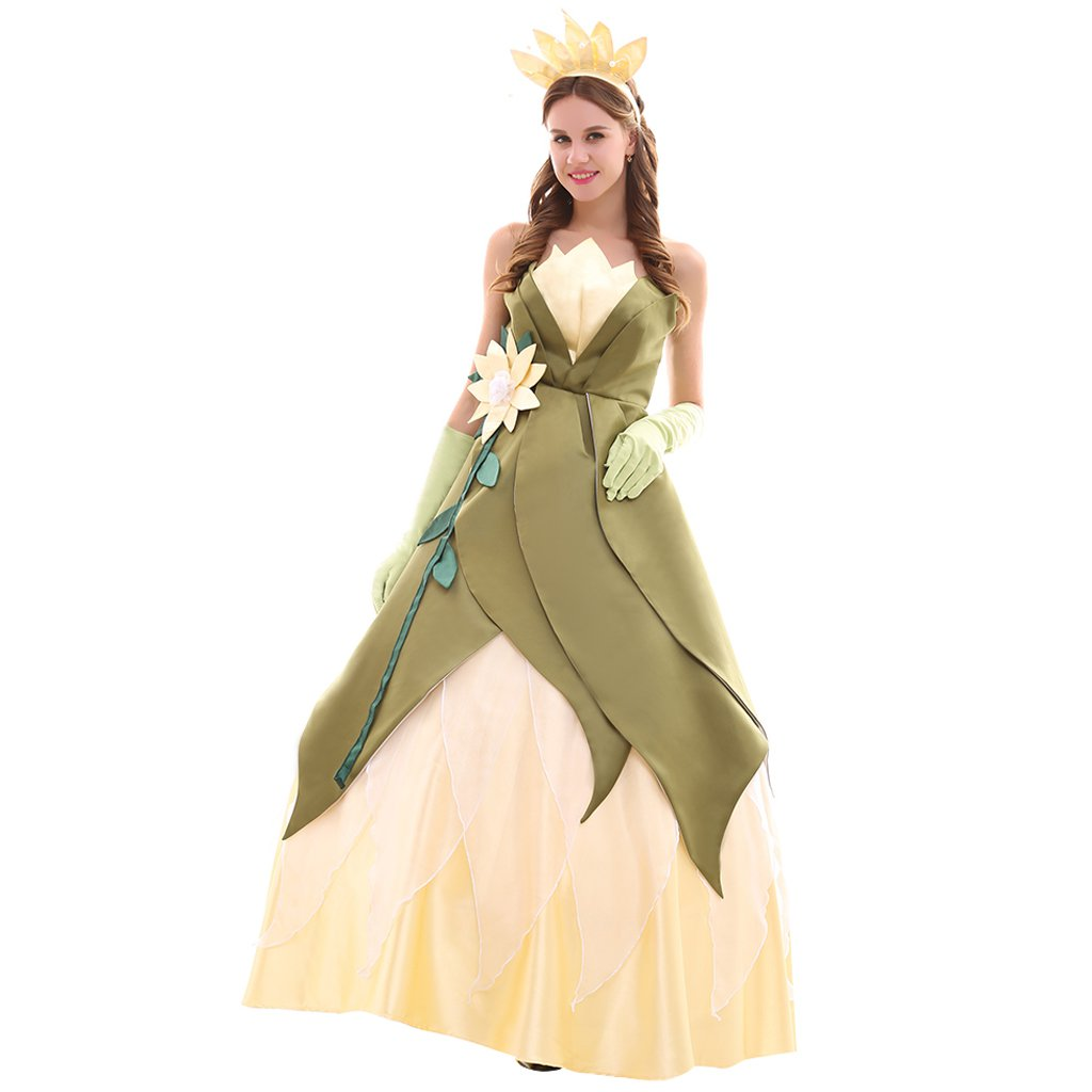 Princess Tiana Dress: Princess Tiana Dress The Frog Tiana Custom Made Dress