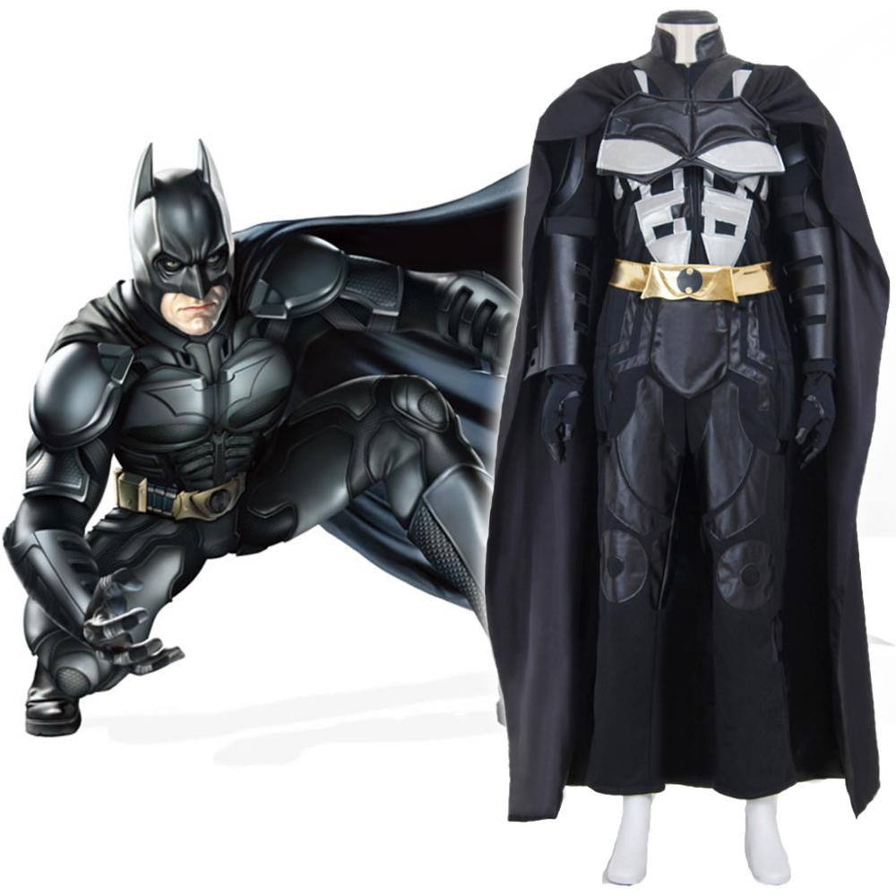 CosplayDiy Menu0027s Batman Cosplay Costume Adult Batman The Dark Knight Rises Outfit  sc 1 st  CosplayDiy - eCRATER & CosplayDiy Menu0027s Batman Cosplay Costume Adult Batman The Dark Knight ...