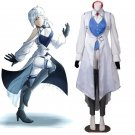 RWBY Season 3 Winter Schnee Ice Queen Costume Cosplay for Halloween Carnival Party