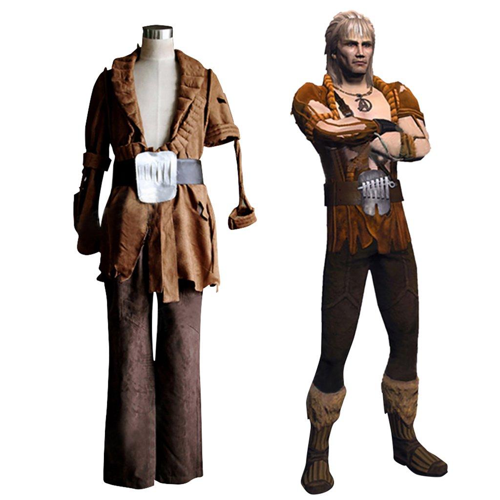 CosplayDiy Men's Outfit Star Trek:The Wrath of Khan Khan Noonien Singh Cosplay Costume for Halloween