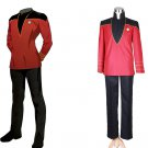 CosplayDiy Men's Outfit Star Trek TNG Admiral Kirk Costume Cosplay for Halloween Carnival