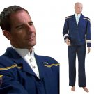 CosplayDiy Men's Uniform Star Trek Enterprise Jonathan Archer Uniform Costume Cosplay for Halloween