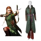 CosplayDiy Women's Costume Movie The Hobbit Elf Tauriel Outfit Costume Cosplay for Party