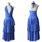 CosplayDiy Women's Dress Breaking Dawn Twilight Bella Swan Blue Prom Dress Cosplay for Evening Party