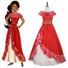 Elena of Avalor Princess Elena Red Custom Made Dress Costume Cosplay for Carnival Party