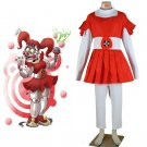 Five Nights at Freddy's Circus Outfit Dress Costume Cosplay for Carnival Party