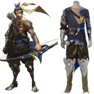 Overwatch Shimada Hanzo Outfit Costume Cosplay Adult's Halloween Carnival Cosplay Costume