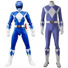 Mighty Morphin Power Rangers Men's Clothes Costume Jumpsuit Cosplay for Halloween Carnival Party