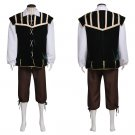Custom Made Men's Medieval Costume Cosplay Vintage Medieval Adult's Shirt Vest Pants Cosplay