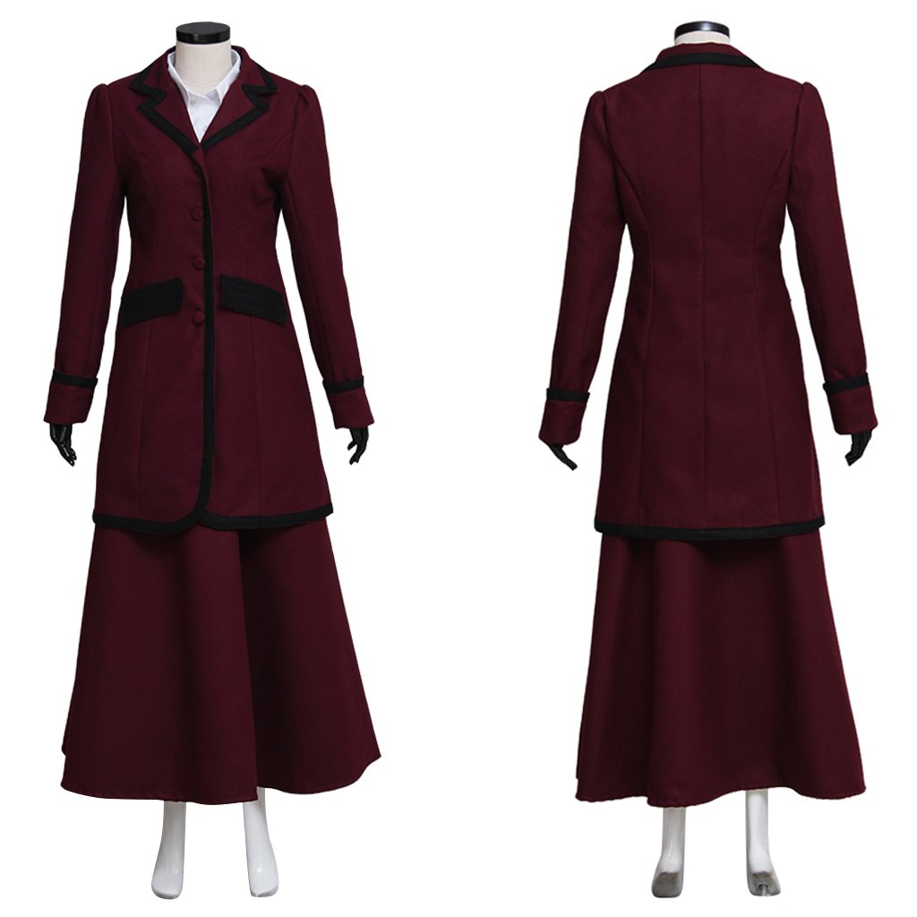 Missy Mistress Jacket Dress Cosplay Doctor Who 8th Adult's Outfit Custom Made Costume Cosplay
