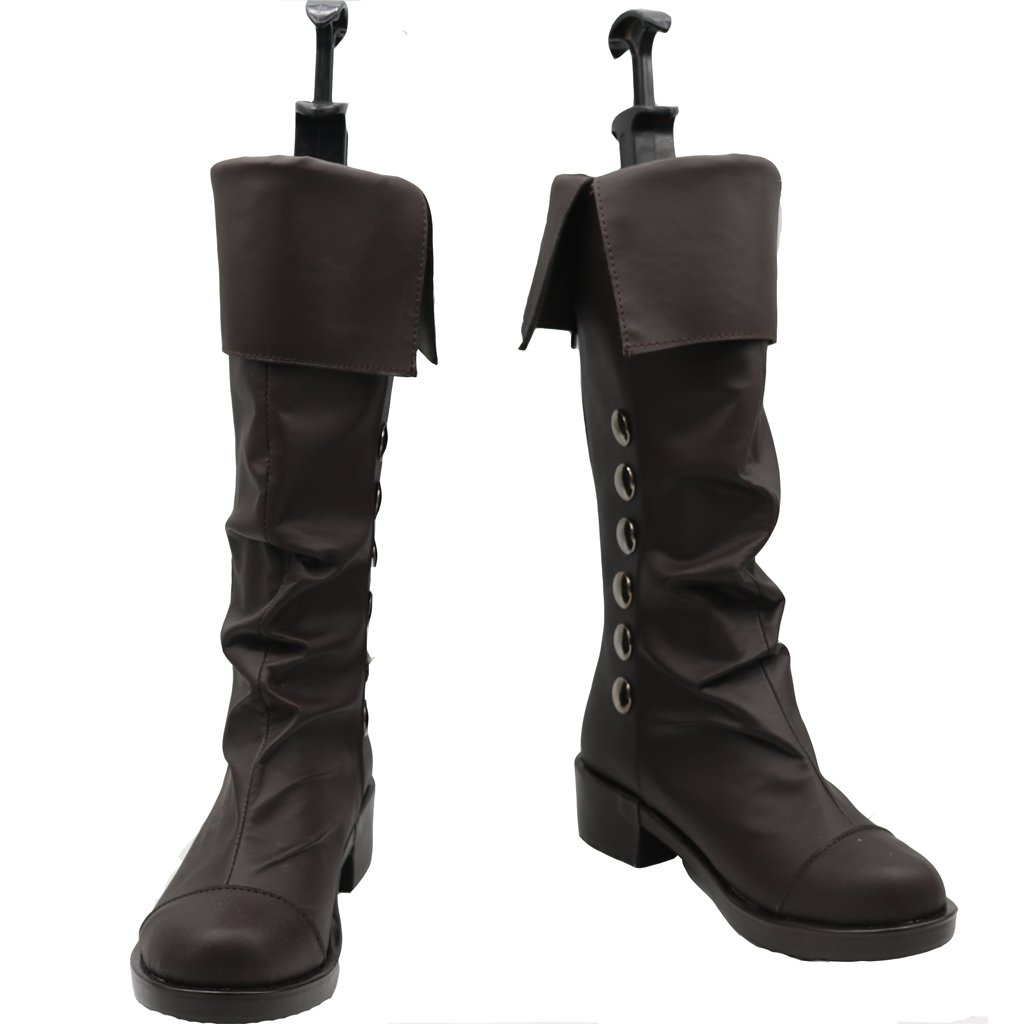 Shay Patrick Cormac Boots Cosplay Assassin's Creed:Rogue Adult's Boots Shoes Cosplay for Party