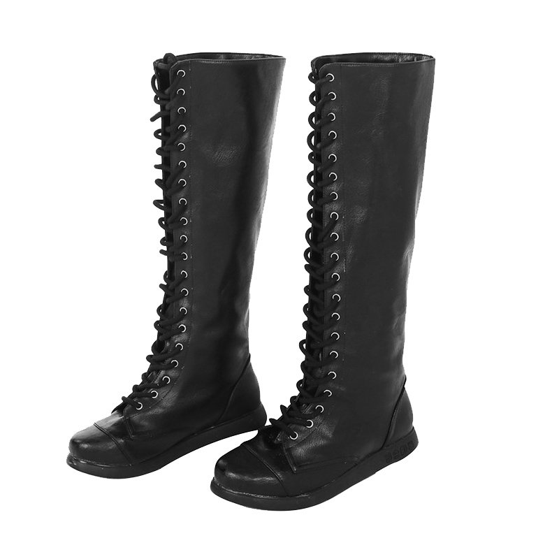 Adult's Shoes Resident Evil: The Final Chapter Alice Black Shoes Boots Cosplay Accessary
