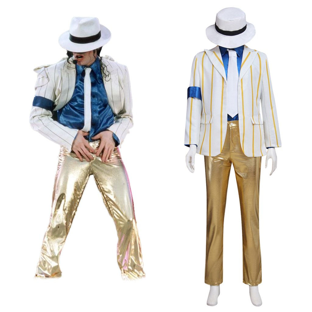 Custom Made Men's Suit Costume Cosplay Micheael Jackson Performance Clothes Cosplay