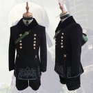 NieR:Automata YoRHa No.p Type S Costume Cosplay Adult's Jacket Short Bag Cosplay for Halloween
