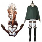 Stationed Corps Attack on Titan Adult's Shirt Pants Jacket Cloak Scarf Cosplay for Party