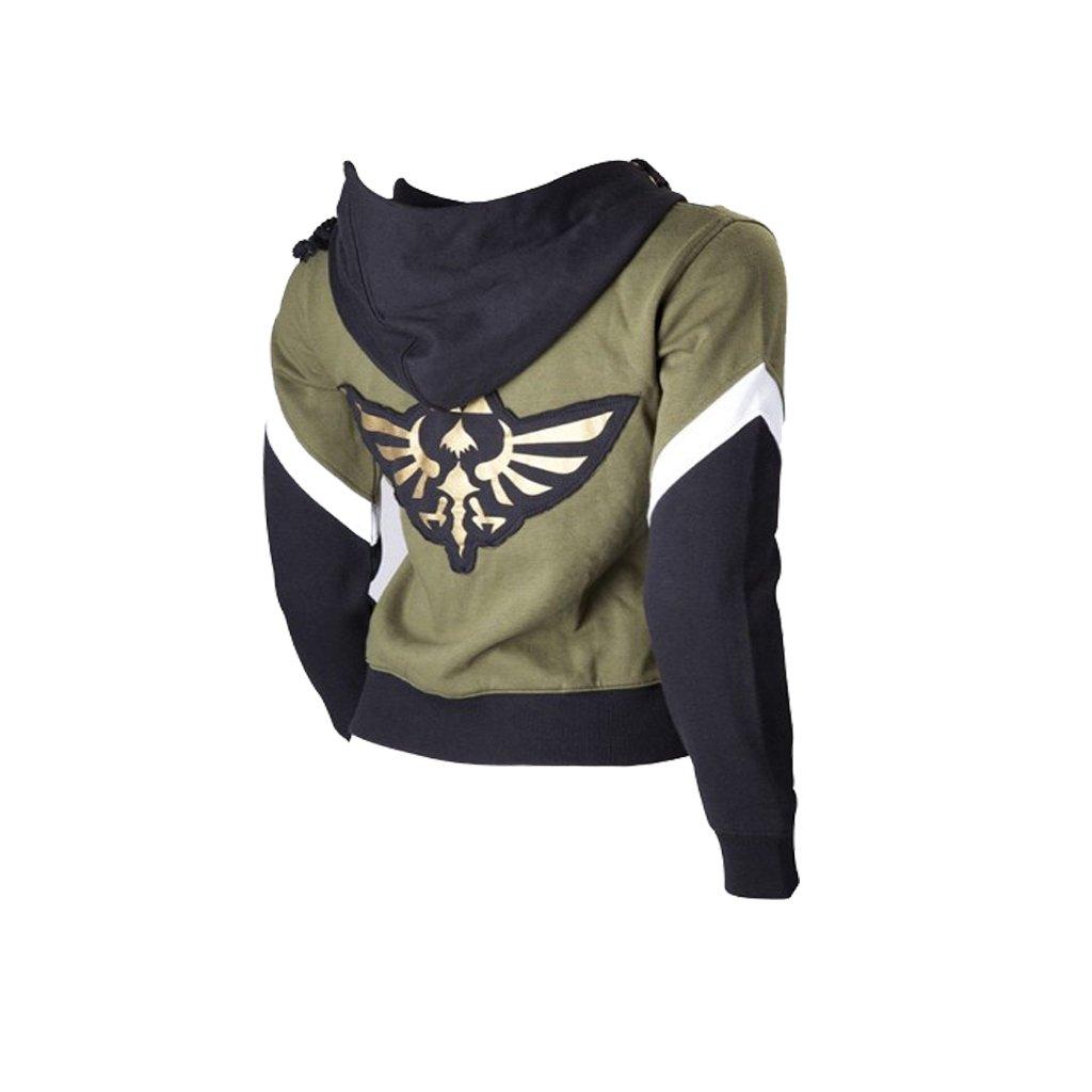 The Legend of Zelda Adult's Top Jacket Costume Cosplay Fashion Outwear Lesiure Hoodie Cosplay