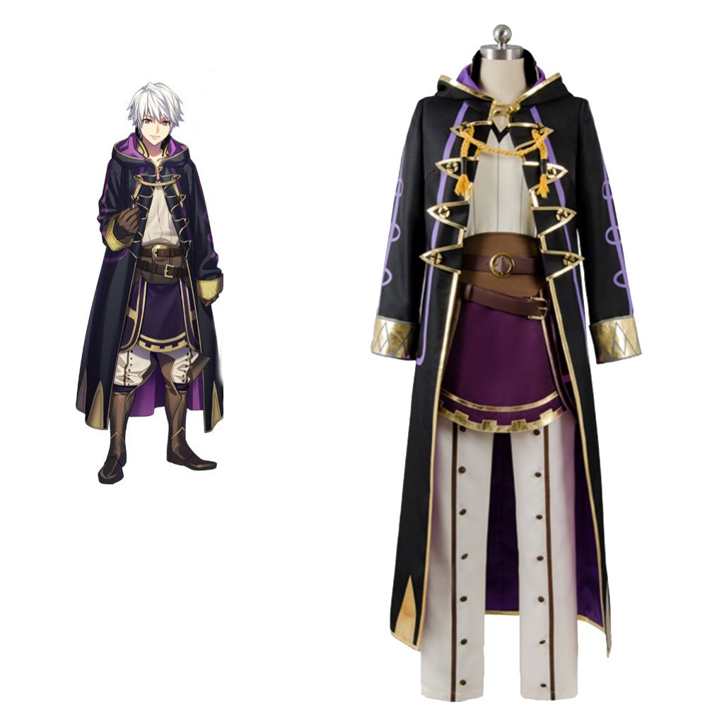 Fire Emblem Awakening Robin Reflet Daraen Costume Cosplay Unisex Costume for Carnival Party