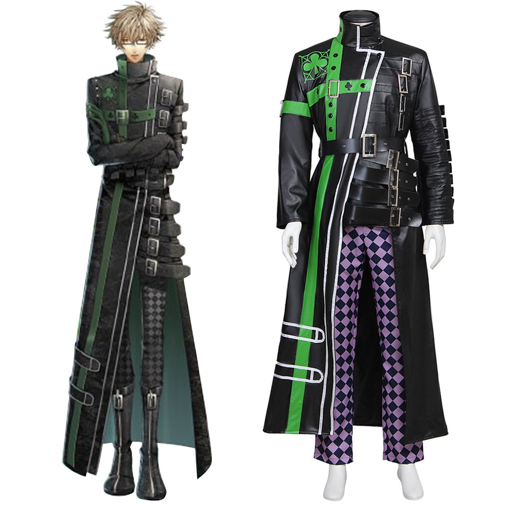 Anime AMNESIA Kent Costume Cosplay Adult's Custom Made Jacket Pants Cosplay for Halloween Party