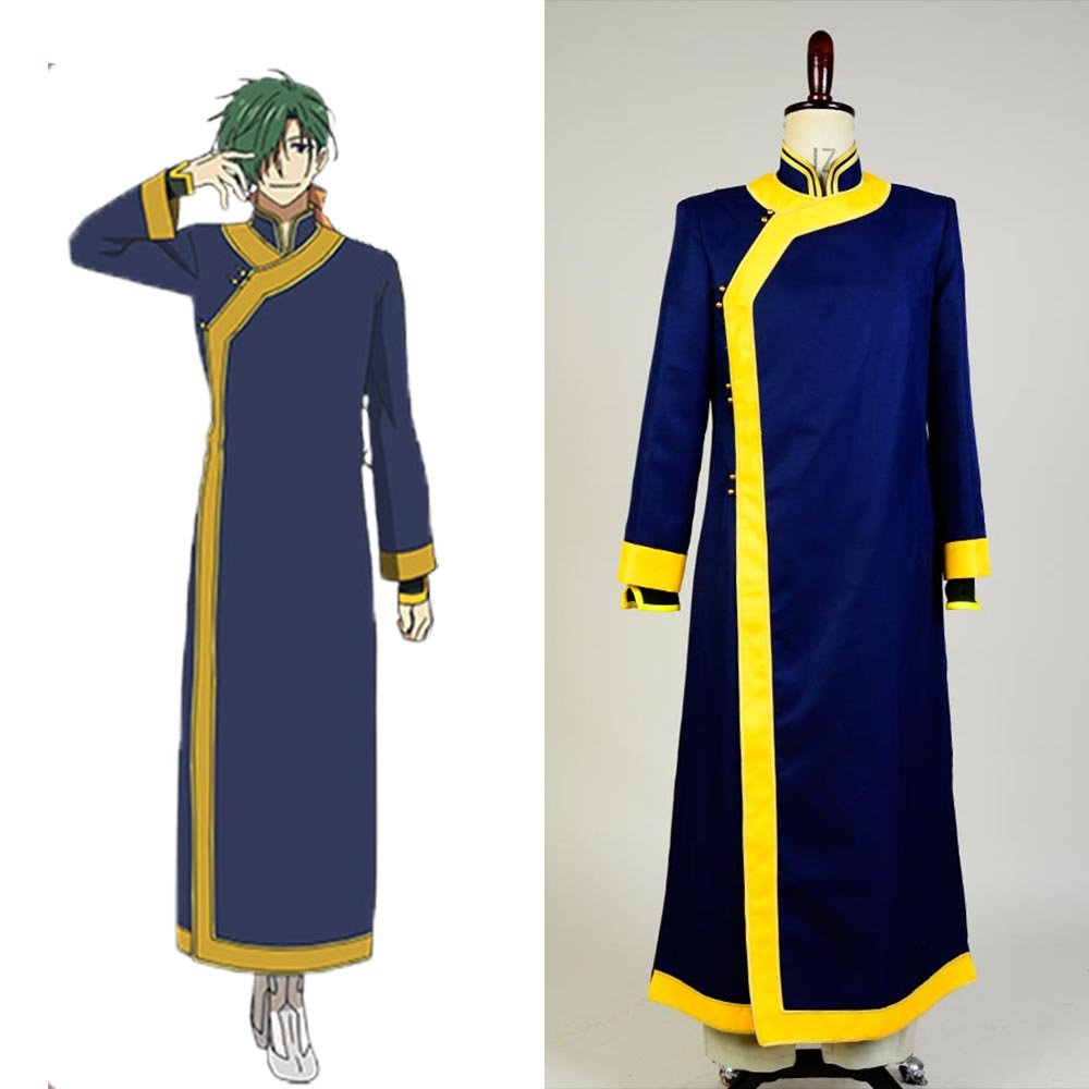 Yona of the Dawn Akatsuki no Yona Jae Ha Green Dragon Costume Cosplay for Carnival Party