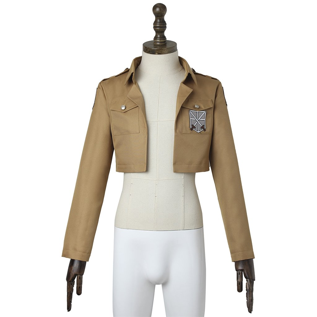 Attack on Titan Adult's Custom Made Costume Adult's Jacket Costume Cosplay