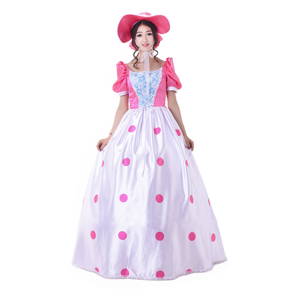 2017 Women's Vintage Dress Custom Made Shepherdess Style Dress Costume Cosplay