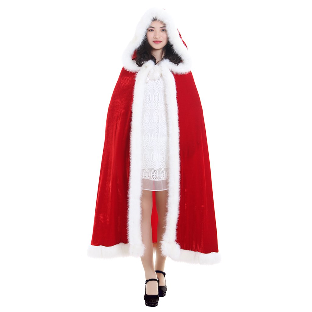 Custom Made Cape Red Riding Hood Adult's Carival Cloak Cape Cosplay Accessories