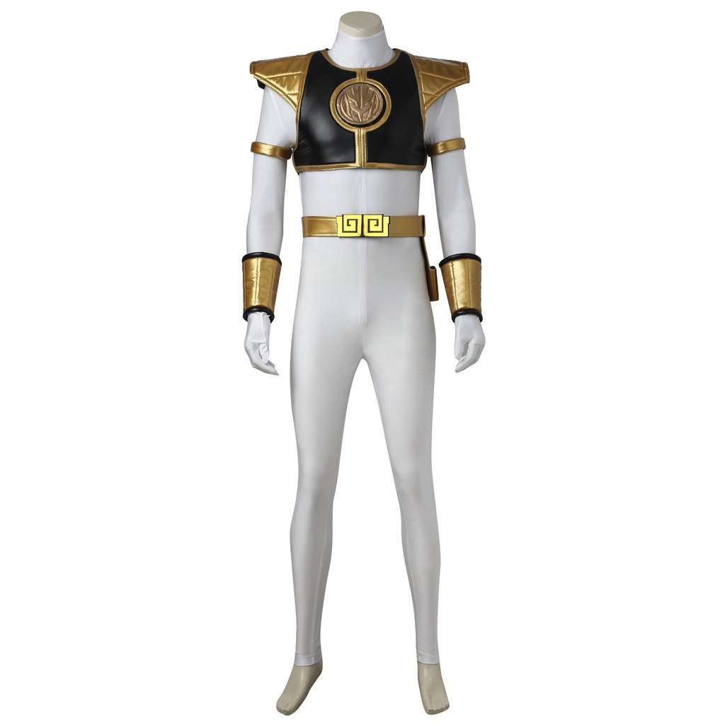 Mighty Morphin Power Rangers Tommy Oliver White Ranger Custom Made Costume Cosplay