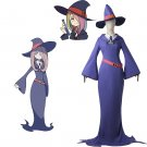 Little Witch Academia Sucy Mambavaran Costume Cosplay Custom Made Witch Outfit Cosplay