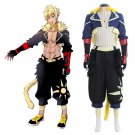 Anime RWBY Sun Wukong Custom Made Costume Cosplay Adult's Jacket Pants Gloves Cosplay