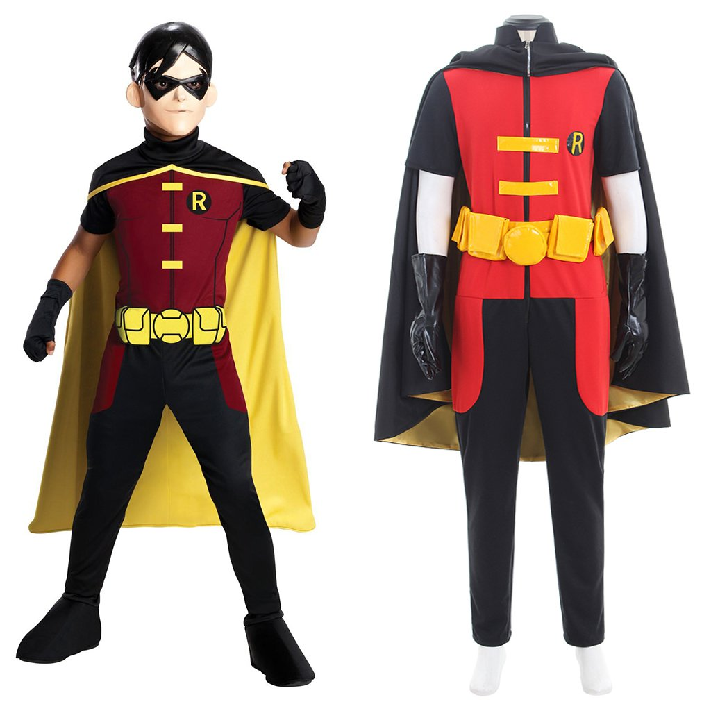 how to make a young justice robin costume