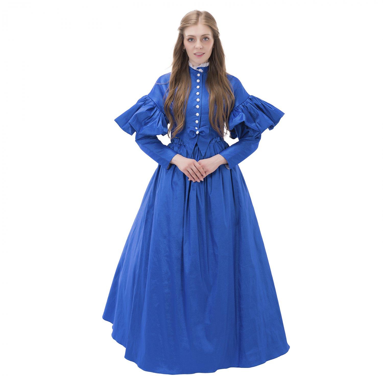Cosplaydiy Victorian day dress cosplay European medieval ...