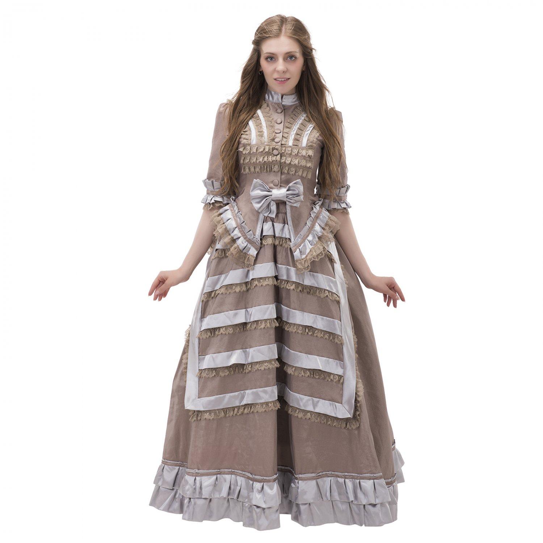 Victorian Era Dress Gothic Renaissance Medieval Period ...