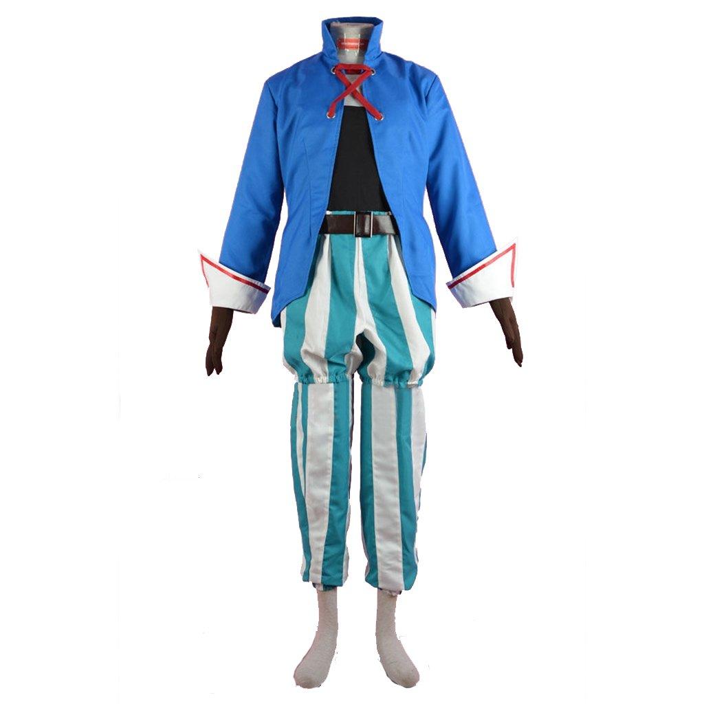 Cosplaydiy Game Final Fantasy IX Vivi Orunitia Adult Men Halloween Carnival Cosplay Costume