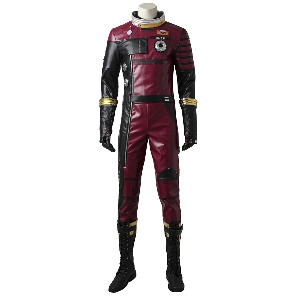 game prey role morgan cosplay costume adult unisex halloween outfit
