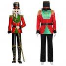 Nutcracker Uniform Cosplay Costume Adult Men's Halloween Costume  Hooded Uniform Custom Made