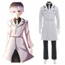 CosplayDiy Tokyo Ghoul Season 3 Ken Kaneki White Cosplay Costume Men's Outfit