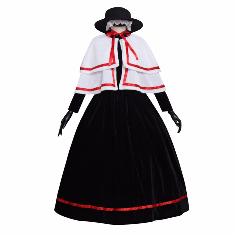Girls Church Cosplay Costume Medieval Renaissance Victorian Ball ...