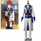Anime Ensemble Stars Cosplay Costume Suou Tsukasa Costume Suit Mens Womens Coat Gloves Costume