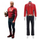 "Flash Comics Cosplay Costume the First Flash Cosplay Costume Jason Peter ""Jay"" Garrick Outfit"