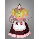 Cosplaydiy Alice Madness Returns Adult Misstitched Cosplay Costume Halloween Party Fancy Dress