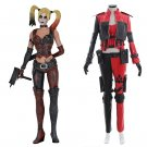 Cosplaydiy  Injustice 2 Harley Quinn Cosplay Costume For Halloween Party