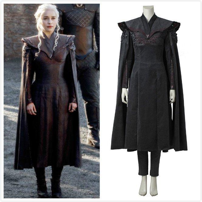 Game of Thrones Season 7  Daenerys Targaryen  Costume Cosplay Women's Halloween Party Costume